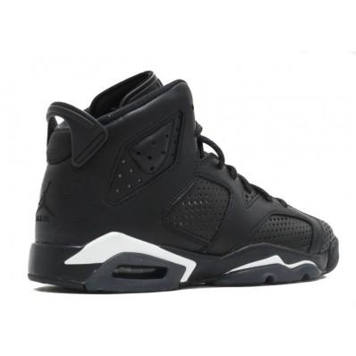 "Jordan 6 enfants,Enfants Air Jordans air jordan 6 retro bg (gs) ""Noir cat"" (noir"
