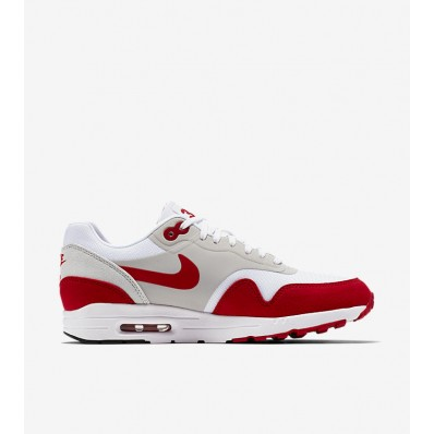 Nike Air Max 1 Femme,Nike Air Max 1 Ultra 2.0 LE « Blanche & University Rouge » pour Femme