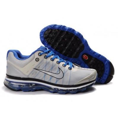 Nike Air Max 2009 Femme,basket nike femme air max, Chaussures Nike Air Max 2009 Gris/Bleu