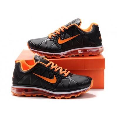 Nike Air Max 2011 Femme,Nike Air Max 2011 Femme (Noir/ Orange Blanc) [Nikeairmax2011020