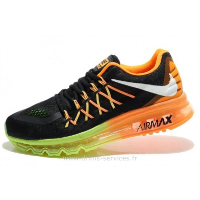 Nike Air Max 2011 Homme,Nike Air Max 2015 Noir Orange Vert Homme (Cheap Nike Air Max 2011