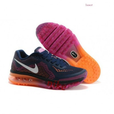 Nike Air Max 2016 Femme,Nike Air Max 2016 Femme Bleu/Orange Hyperfuse Trainers FR, Air Max