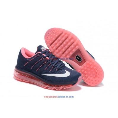 Nike Air Max 2016 Femme,Chaussures Nike Air Max 2016 Femme Bleu Foncé Blanc Rose Outlet