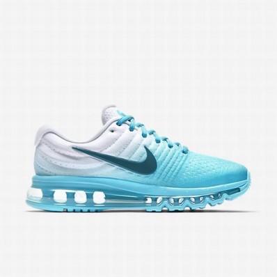 Nike Air Max 2017 Femme,Nike Air Max 2017 Running Sky Bleu Blanche 17968 Femme Chaussure