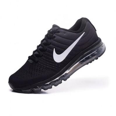 Nike Air Max 2017 Femme,Femmes Nike Air Max 2017 Chaussures de running noir et blanc TU