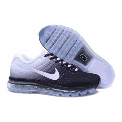 Nike Air Max 2017 Femme,Running Shoes Blanche Noir Femme Nike Air Max 2017 Chaussures
