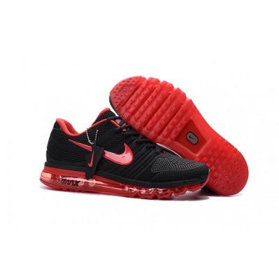 Nike Air Max 2017 Femme,air max pas cher pour femme,air max 2017 noir et rouge femme