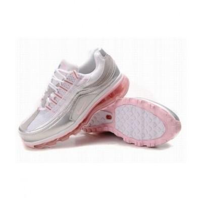 Nike Air Max 24-7 Femme,Pas Cher Nike Air Max 24 7 pour Femme Blanc Arge La Conception