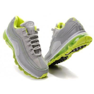 Nike Air Max 24-7 Homme,air max 90 pas cher homme, Nike Air Max 24 7 Gris Vert Noir