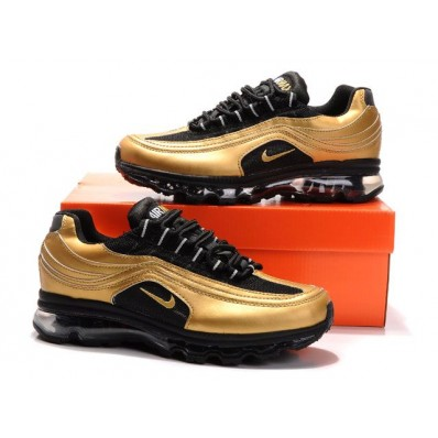 Nike Air Max 24-7 Homme,chaussures pas cher nike, Chaussures 24 7 Noir/OR Homme