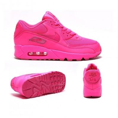 Nike Air Max 90 Femme,Nike Air Max 90 Femme All Fushia GALAXSTREET PARIS