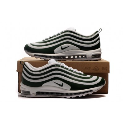 Nike Air Max 97 Homme,Nike Air Max 97 Homme Soldes Site iciel Blanche Verte