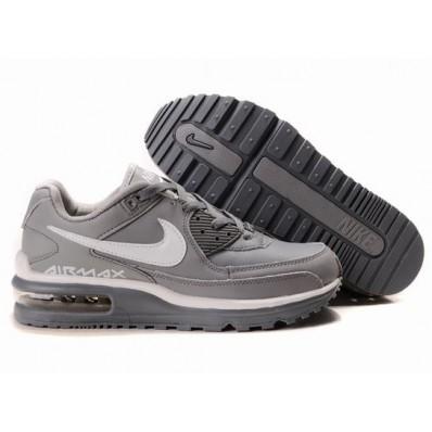 Nike Air Max LTD Femme,Z0600673 Nike Air Max LTD blanc / gris de la femme Chaussures À Vendre