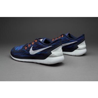 Nike Free 5.0 enfants,Nike Free 5.0 Print chaussures pour homme obsidienne blanc lave