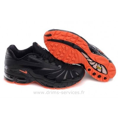 Nike TN Femme,40 Nike Air Max Tn Iii Classic Noir Rouge Homme (Tn Femme)