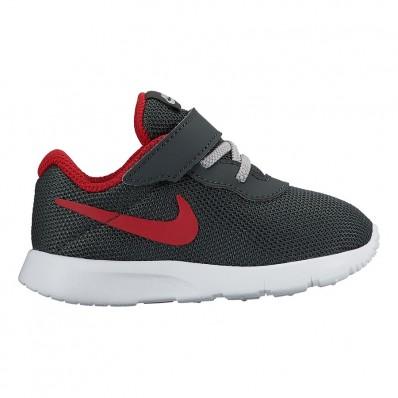 Nike Tanjun enfants,Chaussures Nike Tanjun TDV gris rouge enfant | deporvillage