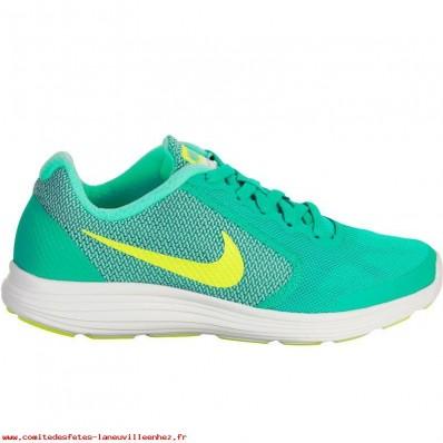 Nike Tanjun enfants,Chaussures marche sportive enfant Tanjun vert jaune NIKE [8366354