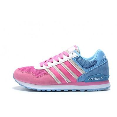 adidas neo 10k femme,chaussure adidas neo 10k femme blanc rose bleu pas cher