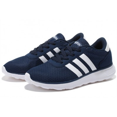 adidas neo homme,Nouvelle Homme/Femme Adidas NEO Lite Racer Chaussures Marine
