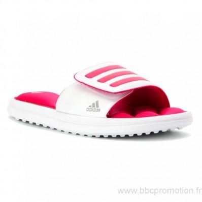 adidas sandals enfants,Adidas Kids' Zeitfrei Slide Sandal Pre/Grade School Blanc/Rose