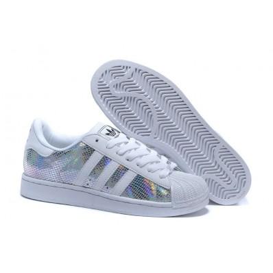 adidas superstar 2 homme,Chaussure Blanc Multicolor Adidas Superstar 2 Homme Femme Solde