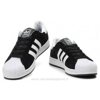 adidas superstar 2 homme,Adidas Superstar Ii Homme Blanc Noir Superbe Soldes