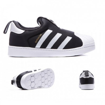 adidas superstar 360 enfants,Adidas Originals Enfant Superstar 360 Formateur Noir Blanc