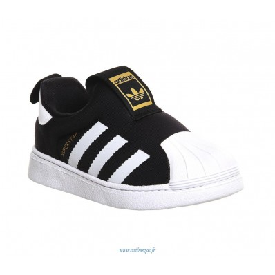 adidas superstar 360 enfants,Enfants Adidas Superstar 360 Inf 3 9 Core Noir Unisex