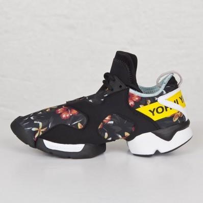 adidas y3 femme,Meilleur Adidas Y 3 Kohna Fleur Print Futuristic Yohji Yamamoto