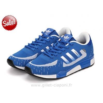 adidas zx 850 homme,Adidas Originals ZX 850 Homme Bleu Et Blanc Zx 750 Adidas