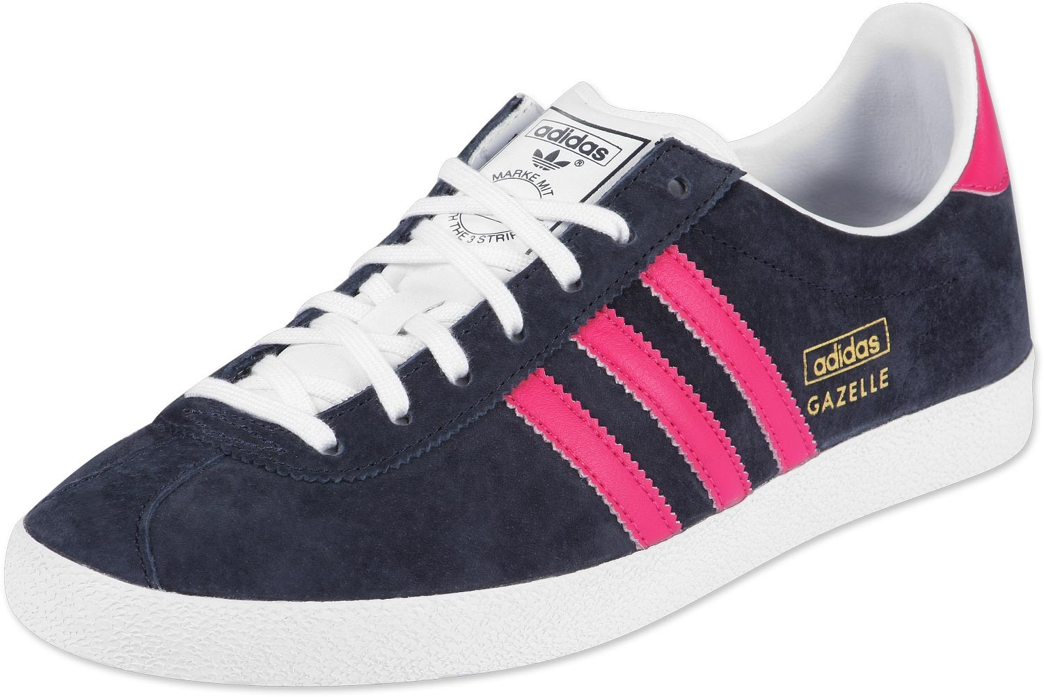 adidas gazelle bleu marine et rose pas cher. Black Bedroom Furniture Sets. Home Design Ideas