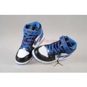 Jordan 1 enfants,Nike Air Jordan 1 Enfants Blanche Noir Bleu Beauvais http://www