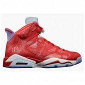 Jordan 6 enfants,Achat Nike Air Jordan Retro 6 Enfants Noir Rouge Soldes Pas Cher Vente