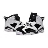 Jordan 6 enfants,Enfants Air Jordan 6 blanc noir pas cher 74.37