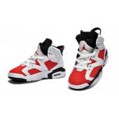Jordan 6 enfants,Enfants Air Jordan 6 Carmine pas cher 74.37