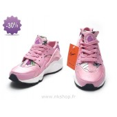 Nike Air Huarache enfants,Soldes Qinu67 Apvdw 2015 Nike Air Huarache Og Gs Floral Rose Air