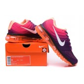 Nike Air Max 2015 Femme,Chaussure Course Femme Nike Air Max 2017 Purpel Orange Blanche