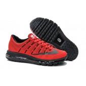 Nike Air Max 2016 Femme,Homme Nike Air Max 2016 Femme Chaussures Rouge Noir