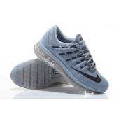 Nike Air Max 2016 Homme,Nike Air Max 2016 Homme Chaussures de Sport Gris Clair Bleu Grande