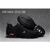 Nike Air Max 2018 Homme,air max 2017 18 tricot ligne de mouche Noir edition de