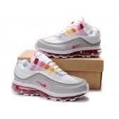 Nike Air Max 24-7 Femme,Chaussures Nike Air Max 24 7 Gris/Blanc/Rouge Femme [750025