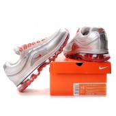 Nike Air Max 24-7 Homme,ou trouver air max pas cher, Chaussures 24 7 Argent/Rouge Homme