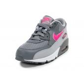 Nike Air Max 90 enfants,Nike Air Max 90 Enfant grise et rose Chaussures Toutes les