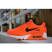 Nike Air Max 90 enfants,30 Nike Air Max 90 Orange Enfant (Nike Air Max 90 Noir Gris)