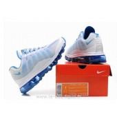 Nike Air Max 95-360 Femme,Réduction Nike Air Max 95 360 Femme Blanc Light Bleu Chaussures