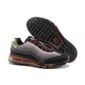 Nike Air Max 95 360 Homme,Nike Air Max 95 360 Homme Chaussures Running Wire Drawing Grise Rouge