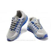 Nike Air Max 95 360 Homme,73 Nike Air Max 95 360 Homme Gris Bleu (Nike Air Max Green)
