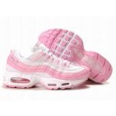 Nike Air Max 95 Femme,Pas cher Chaussures Nike Air Max 95 Femmes Rose/Blanc 1074,www