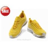 Nike Air Max 97 Homme,Acheter Q3R6Pv Bnuvm Nike Air Max 97 Cvs Runing Jaune Chaussures