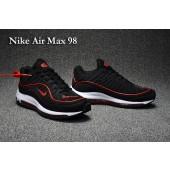 Nike Air Max 98 Femme,air max 98 pour femme,nike air max 98 noir et rouge